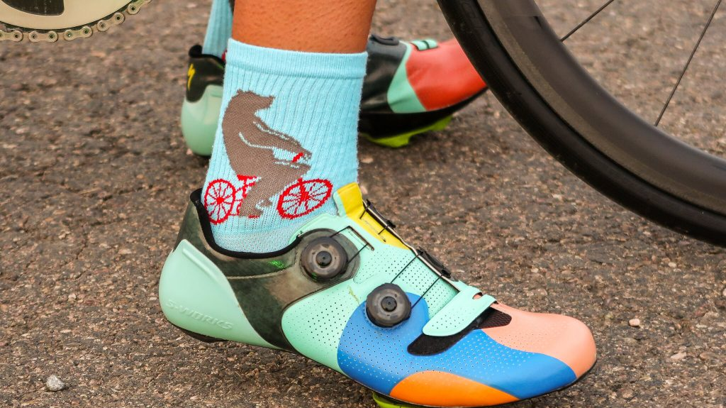 Cycling shoes fit
